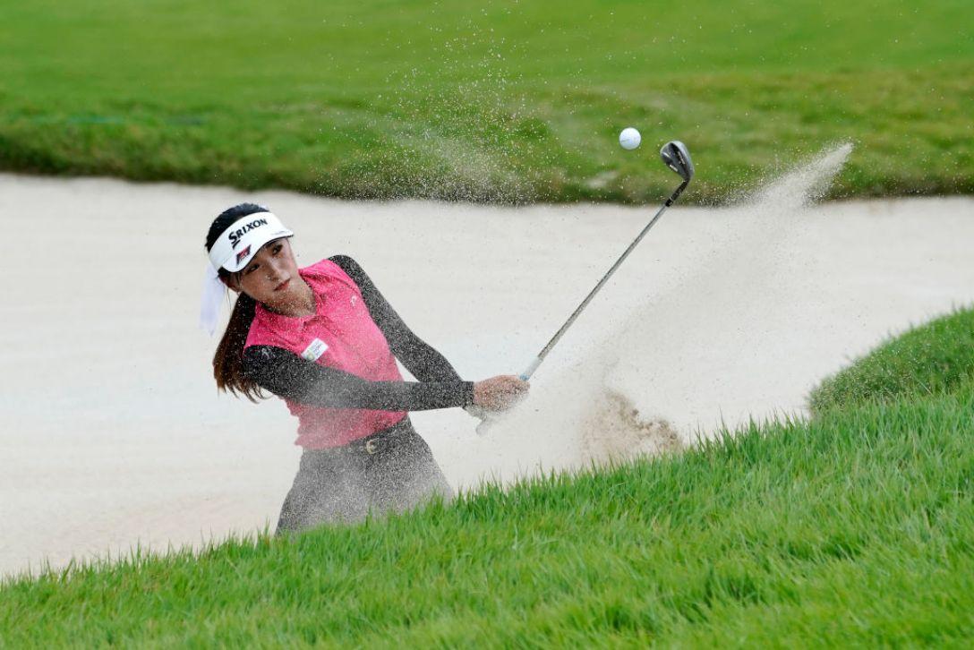 ゴルフ5レディス プロゴルフトーナメント 最終日 臼井麗香<Photo:Toru Hanai/Getty Images>