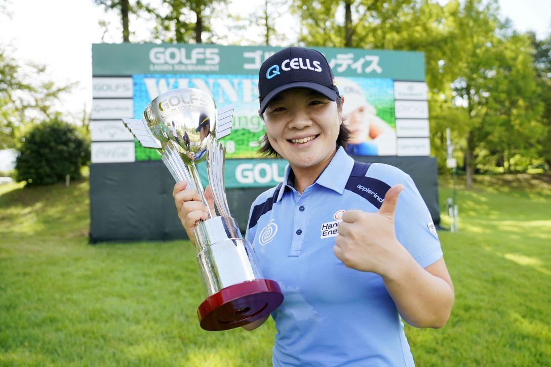 ゴルフ5レディス プロゴルフトーナメント 最終日 イミニョン <Photo:Toru Hanai/Getty Images>