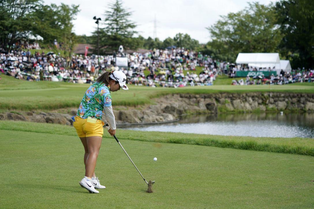 ゴルフ5レディス プロゴルフトーナメント 最終日 淺井咲希 <Photo:Toru Hanai/Getty Images>