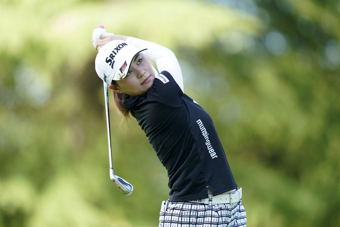 ゴルフ5レディス プロゴルフトーナメント 最終日 新垣比菜 <Photo:Toru Hanai/Getty Images>