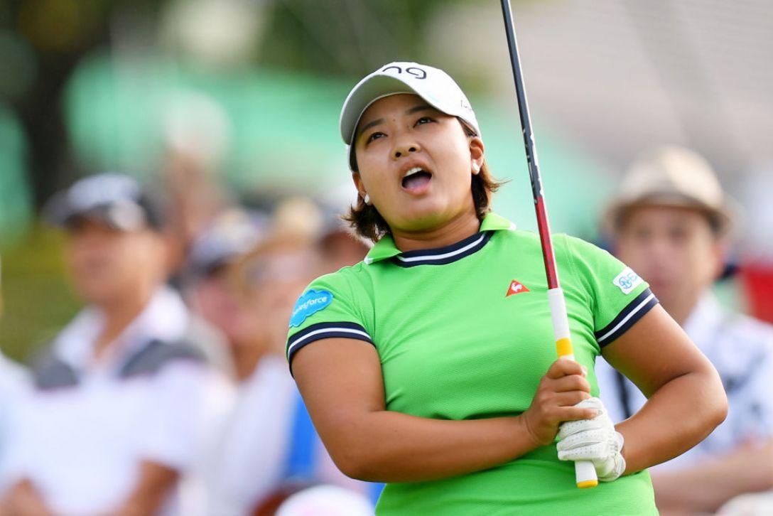 第52回日本女子プロゴルフ選手権大会コニカミノルタ杯 第1日 鈴木愛 <Photo:Atsushi Tomura/Getty Images>