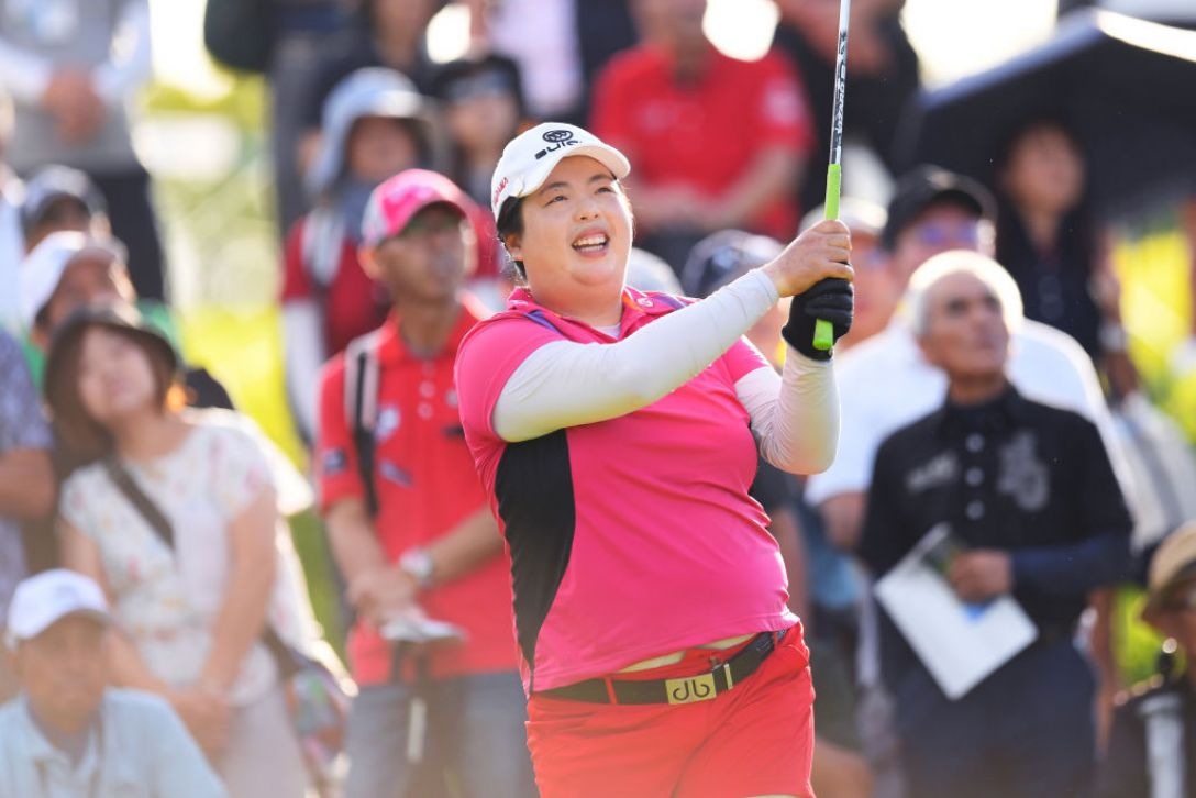 第52回日本女子プロゴルフ選手権大会コニカミノルタ杯 第1日 フォン シャンシャン <Photo:Atsushi Tomura/Getty Images>