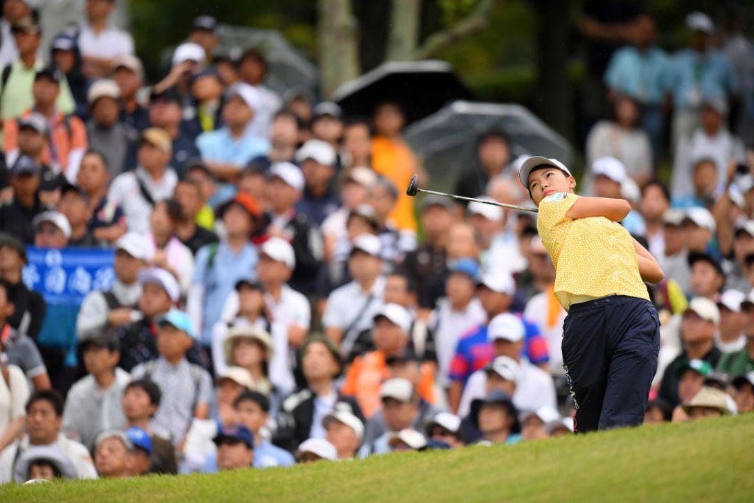日本女子プロゴルフ選手権大会コニカミノルタ杯 第2日 渋野日向子<Photo:Atsushi tomura/Getty Images>