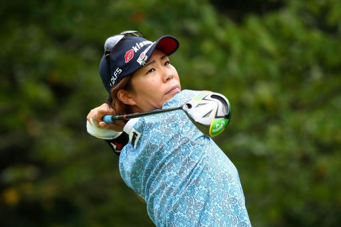日本女子プロゴルフ選手権大会コニカミノルタ杯 第2日 穴井詩<Photo:Chung Sung-Jun /Getty Images>