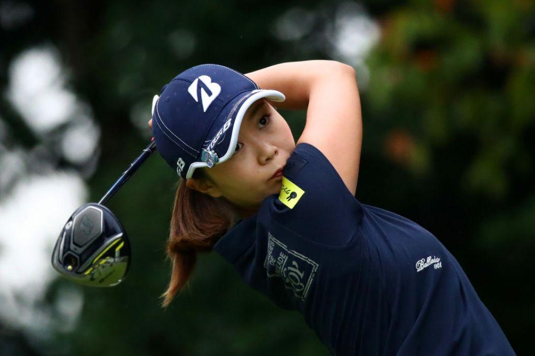 日本女子プロゴルフ選手権大会コニカミノルタ杯 第2日 金澤志奈<Photo:Chung Sung-Jun/Getty Images>