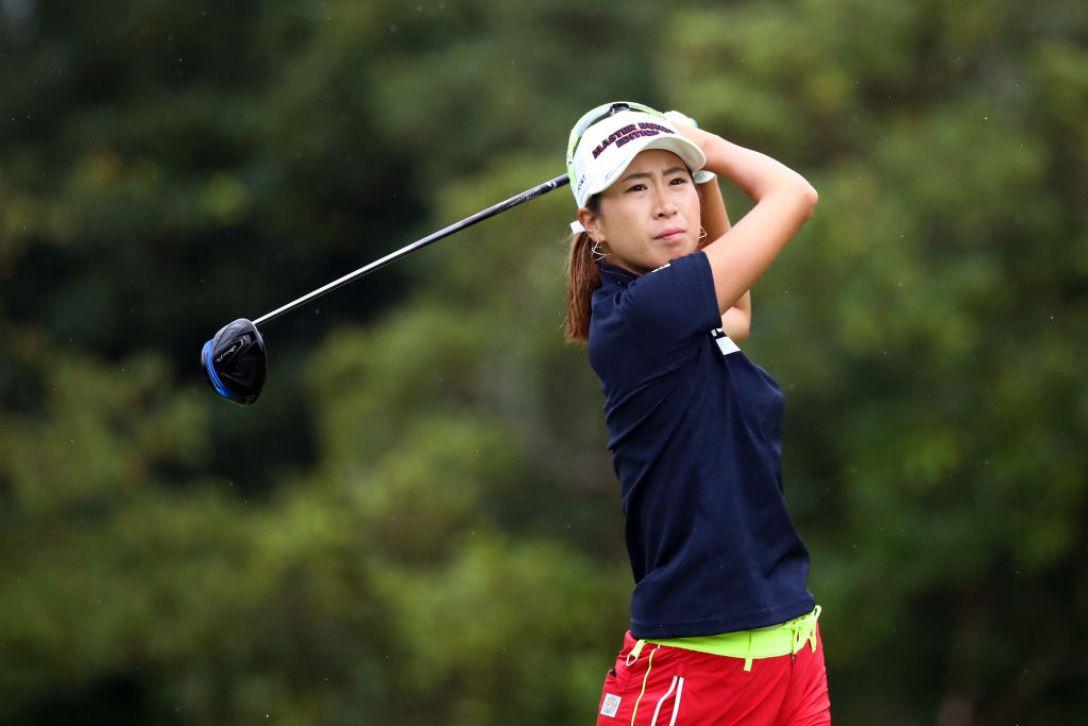 日本女子プロゴルフ選手権大会コニカミノルタ杯 第2日 木戸愛<Photo:Chung Sung-Jun /Getty Images>