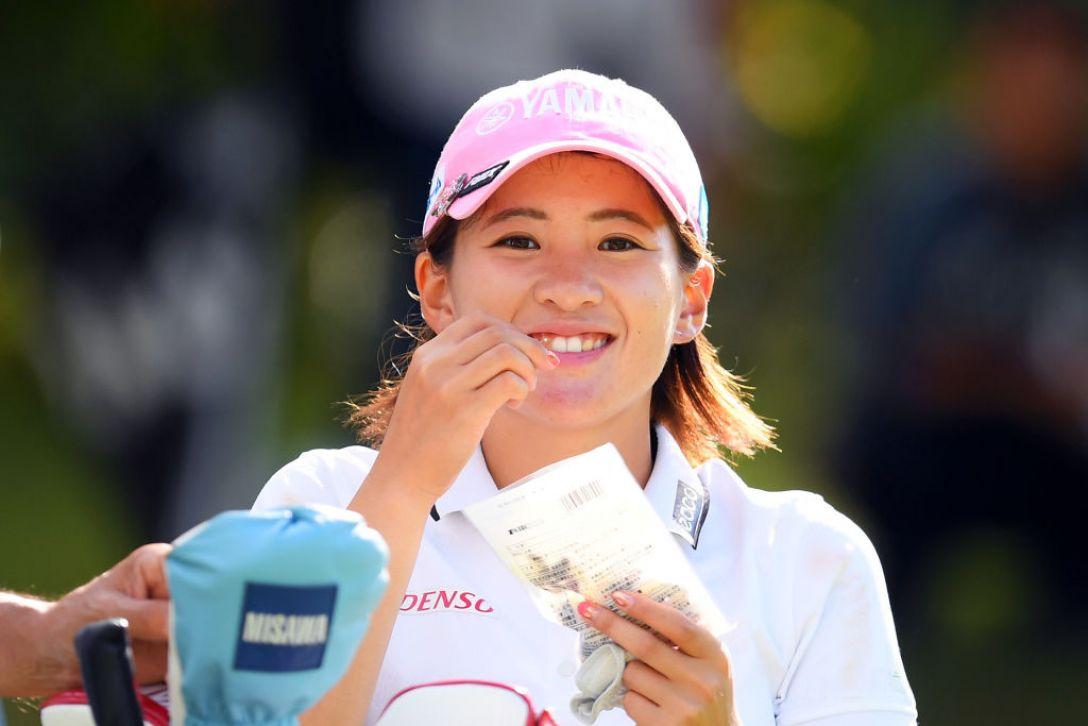 第52回日本女子プロゴルフ選手権大会コニカミノルタ杯 第2日 永井花奈 <Photo:Atsushi Tomura/Getty Images>
