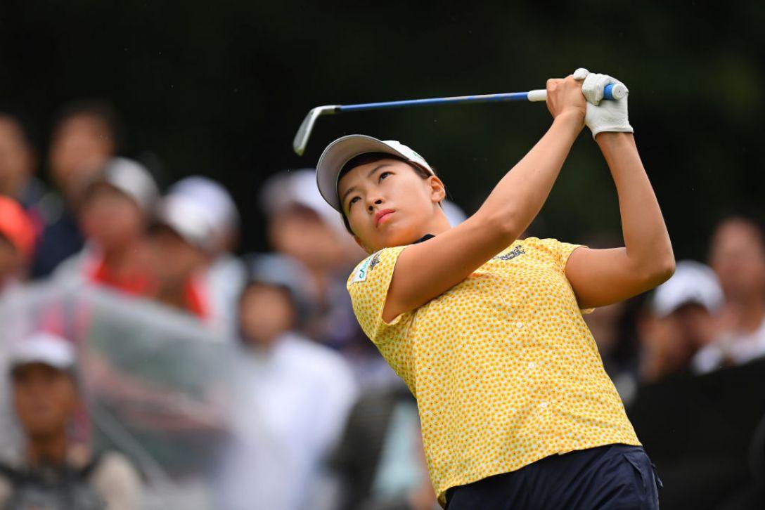 第52回日本女子プロゴルフ選手権大会コニカミノルタ杯 第2日 渋野日向子 <Photo:Atsushi Tomura/Getty Images>