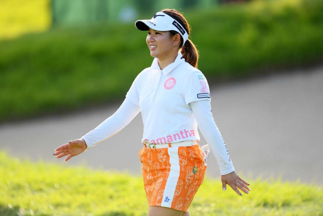 第52回日本女子プロゴルフ選手権大会コニカミノルタ杯 第3日 吉本ひかる <Photo:Atsushi Tomura/Getty Images>