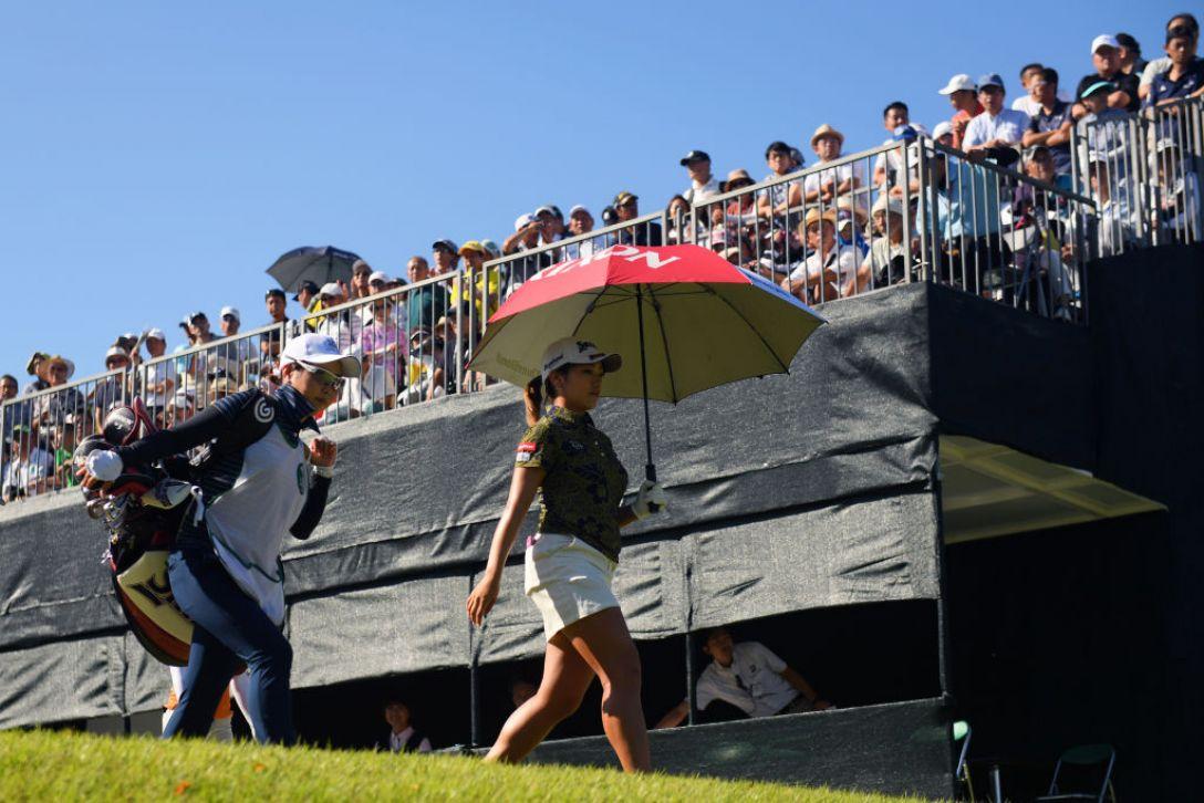 第52回日本女子プロゴルフ選手権大会コニカミノルタ杯 第3日 安田彩乃 <Photo:Atsushi Tomura/Getty Images>