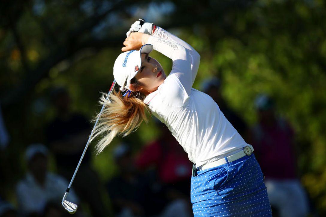 日本女子プロゴルフ選手権大会コニカミノルタ杯 最終日 ペソンウ<Photo:Chung Sung-Jun /Getty Images>