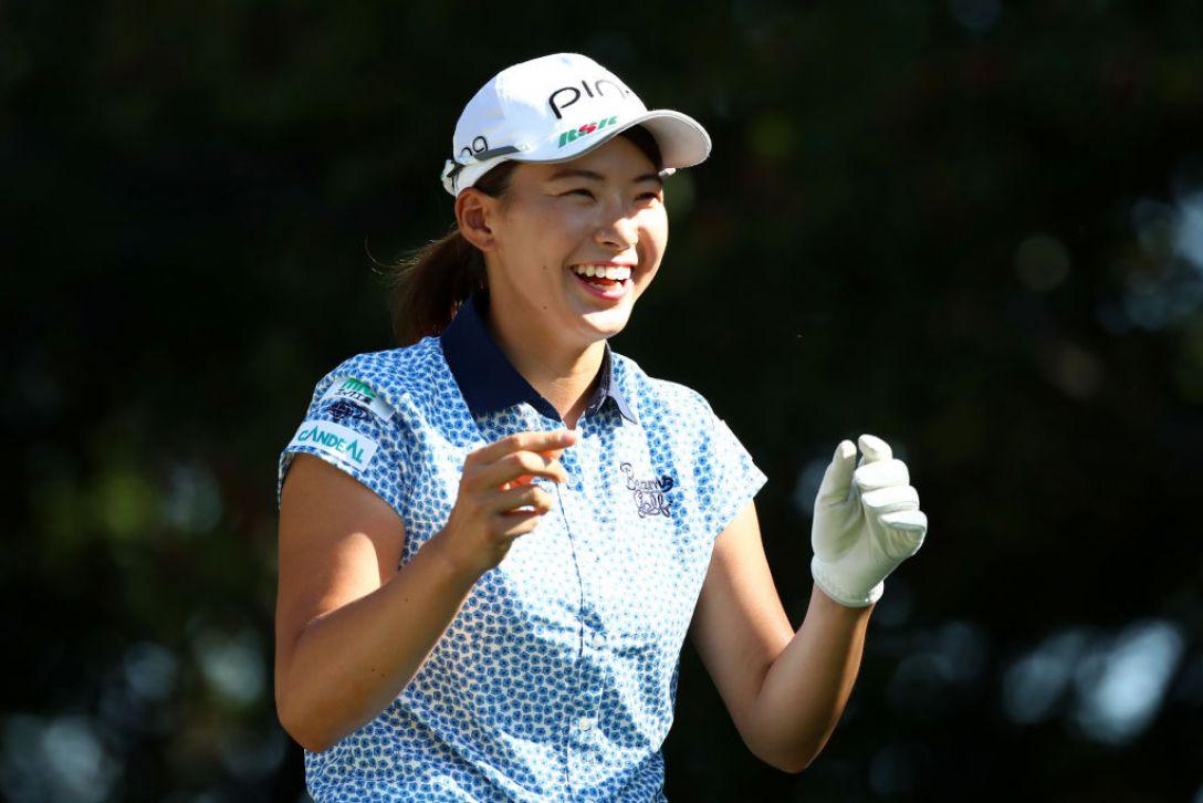 日本女子プロゴルフ選手権大会コニカミノルタ杯 最終日 渋野日向子<Photo:Chung Sung-Jun /Getty Images>