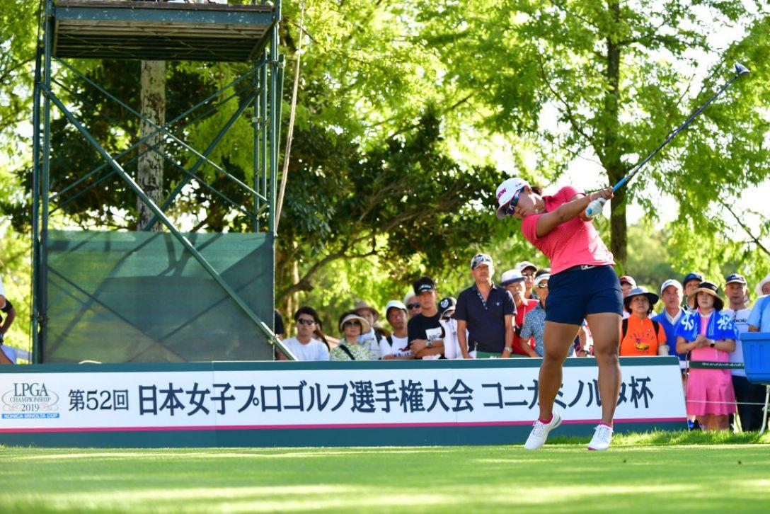 第52回日本女子プロゴルフ選手権大会コニカミノルタ杯 最終日 畑岡奈紗 <Photo:Atsushi Tomura/Getty Images>