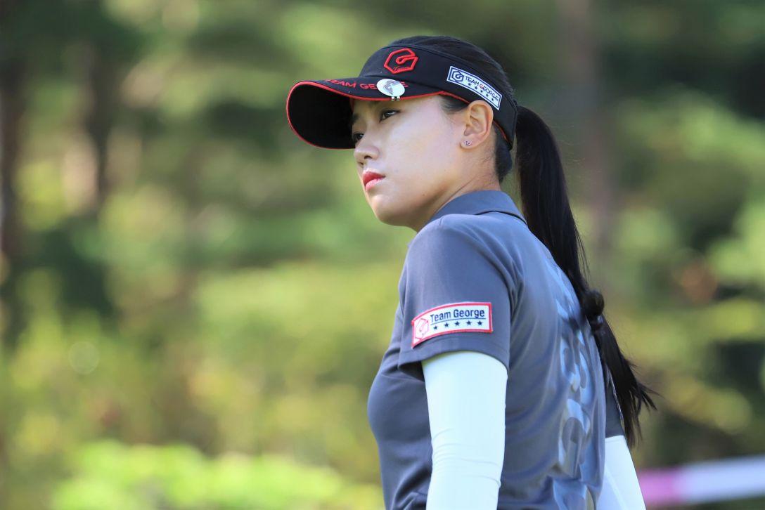中国新聞ちゅーピーレディースカップ 第1日 キムチャンミ