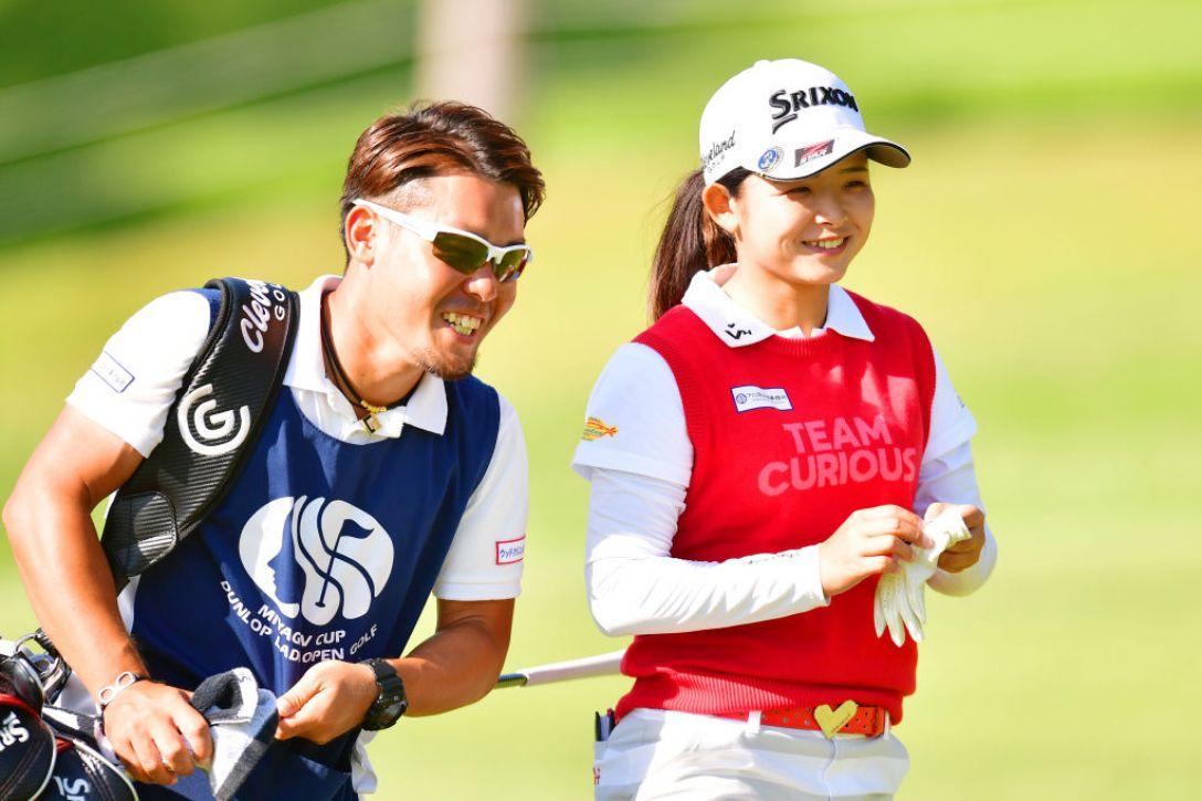 ミヤギテレビ杯ダンロップ女子オープンゴルフトーナメント 第1日 山戸未夢 <Photo:Atsushi Tomura/Getty Images>