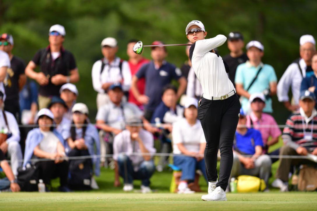 ミヤギテレビ杯ダンロップ女子オープンゴルフトーナメント 第2日 柏原明日架 <Photo:Atsushi Tomura/Getty Images>