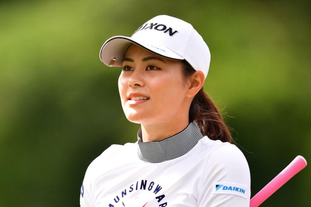 ミヤギテレビ杯ダンロップ女子オープンゴルフトーナメント 第2日 新垣比菜 <Photo:Atsushi Tomura/Getty Images>