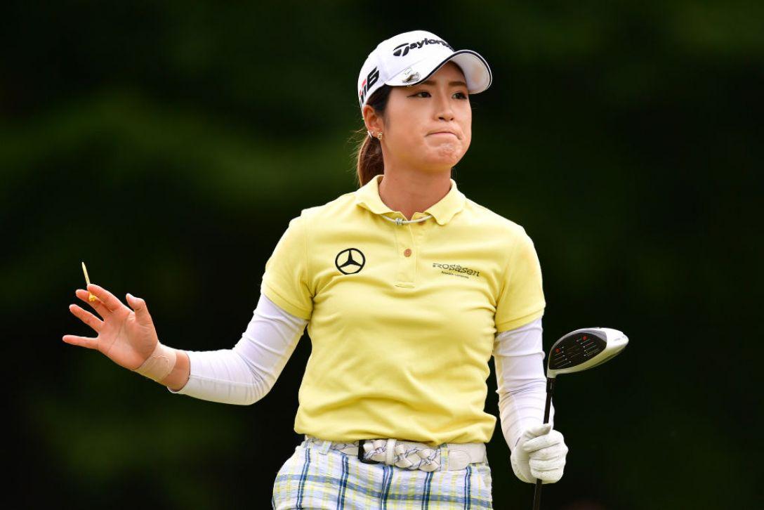 ミヤギテレビ杯ダンロップ女子オープンゴルフトーナメント 第2日 大西葵 <Photo:Atsushi Tomura/Getty Images>