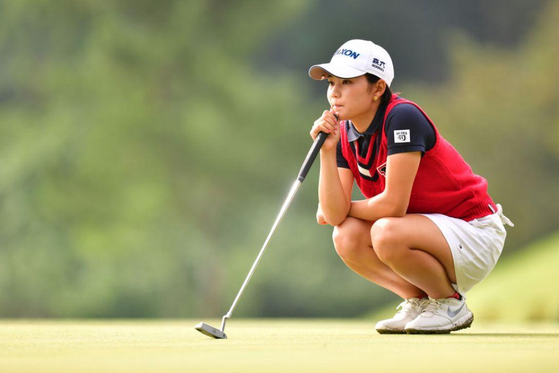 ミヤギテレビ杯ダンロップ女子オープンゴルフトーナメント 第2日 山路晶<Photo:Atsushi tomura/Getty Images>
