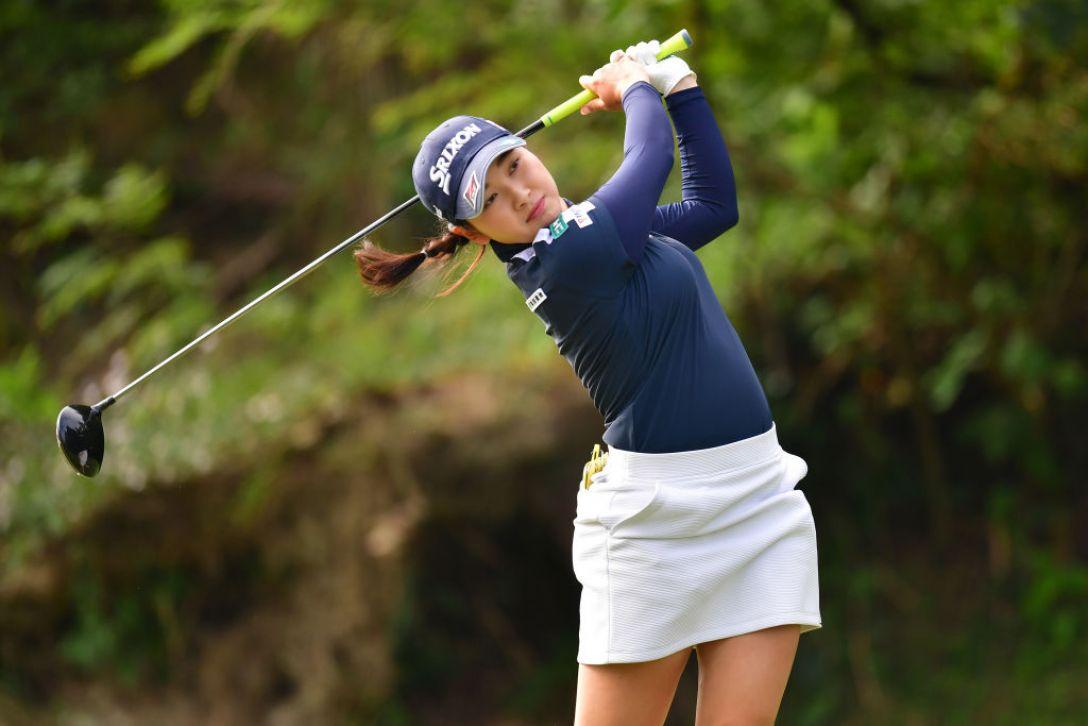 ミヤギテレビ杯ダンロップ女子オープンゴルフトーナメント 第2日 小祝さくら<Photo:Atsushi tomura/Getty Images>