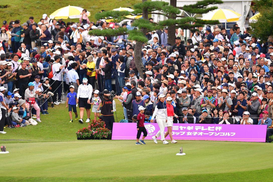 ミヤギテレビ杯ダンロップ女子オープンゴルフトーナメント 最終日 渋野日向子 <Photo:Atsushi Tomura/Getty Images>