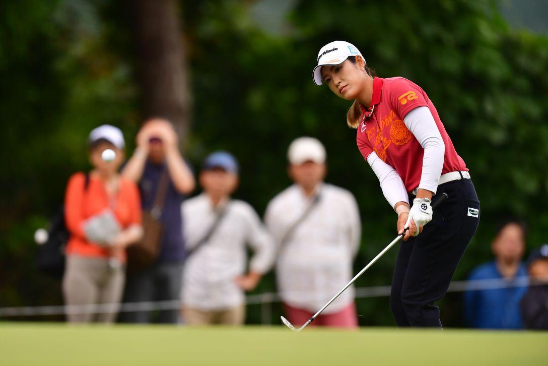 ミヤギテレビ杯ダンロップ女子オープンゴルフトーナメント 最終日 大西葵 <Photo:Atsushi Tomura/Getty Images>