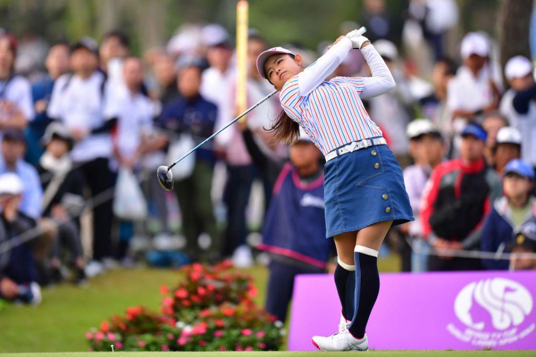 ミヤギテレビ杯ダンロップ女子オープンゴルフトーナメント 最終日 山戸未夢<Photo:Atsushi tomura/Getty Images>