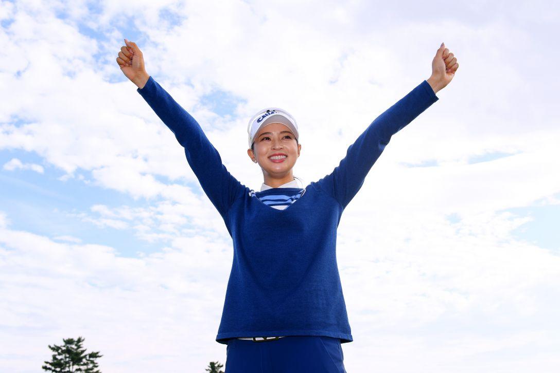 ミヤギテレビ杯ダンロップ女子オープンゴルフトーナメント 最終日 柏原明日架 <Photo:Atsushi Tomura/Getty Images>