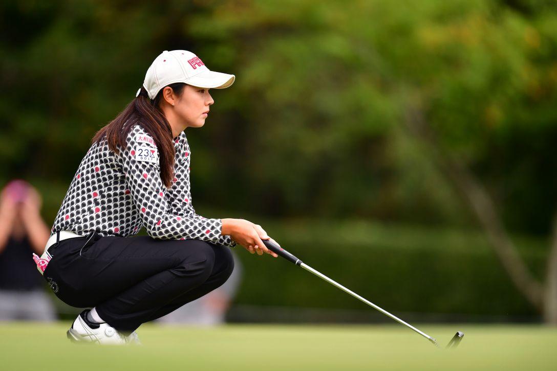 ミヤギテレビ杯ダンロップ女子オープンゴルフトーナメント 最終日 辻梨恵 <Photo:Atsushi Tomura/Getty Images>