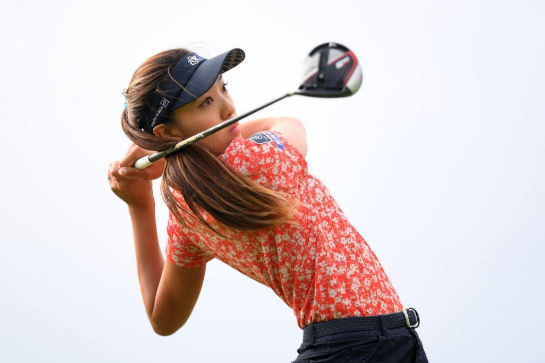 日本女子オープンゴルフ選手権 第1日 エイミー・コガ<Photo:Atsushi tomura/Getty Images>