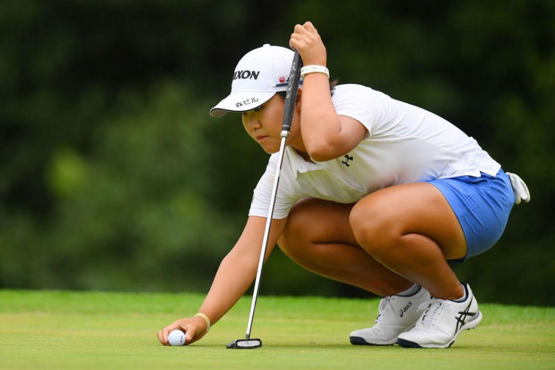 日本女子オープンゴルフ選手権 第1日 畑岡奈紗 <Photo:Atsushi Tomura/Getty Images>