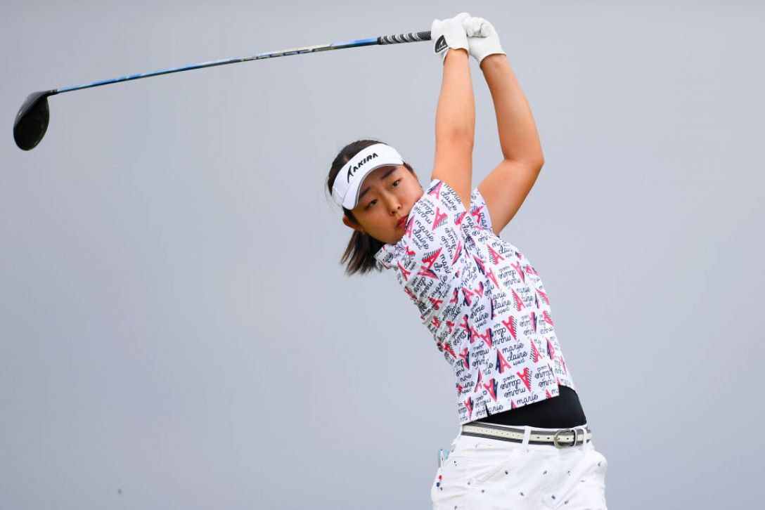 日本女子オープンゴルフ選手権 第1日 小滝水音 <Photo:Atsushi Tomura/Getty Images>