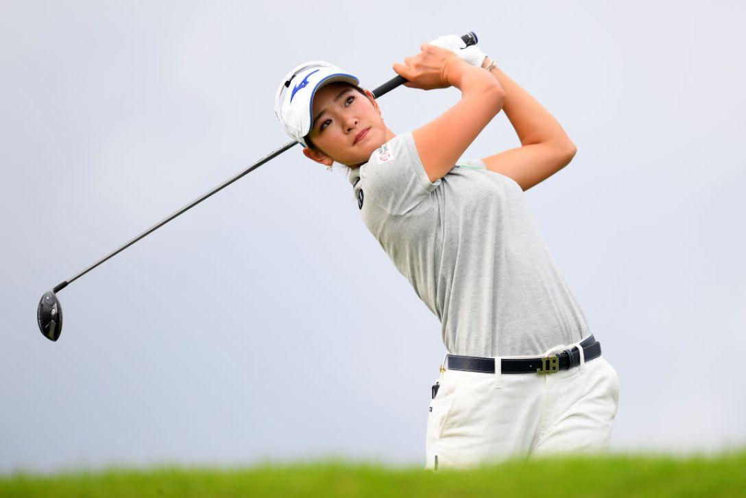 日本女子オープンゴルフ選手権 第1日 原英莉花<Photo:Atsushi tomura/Getty Images>