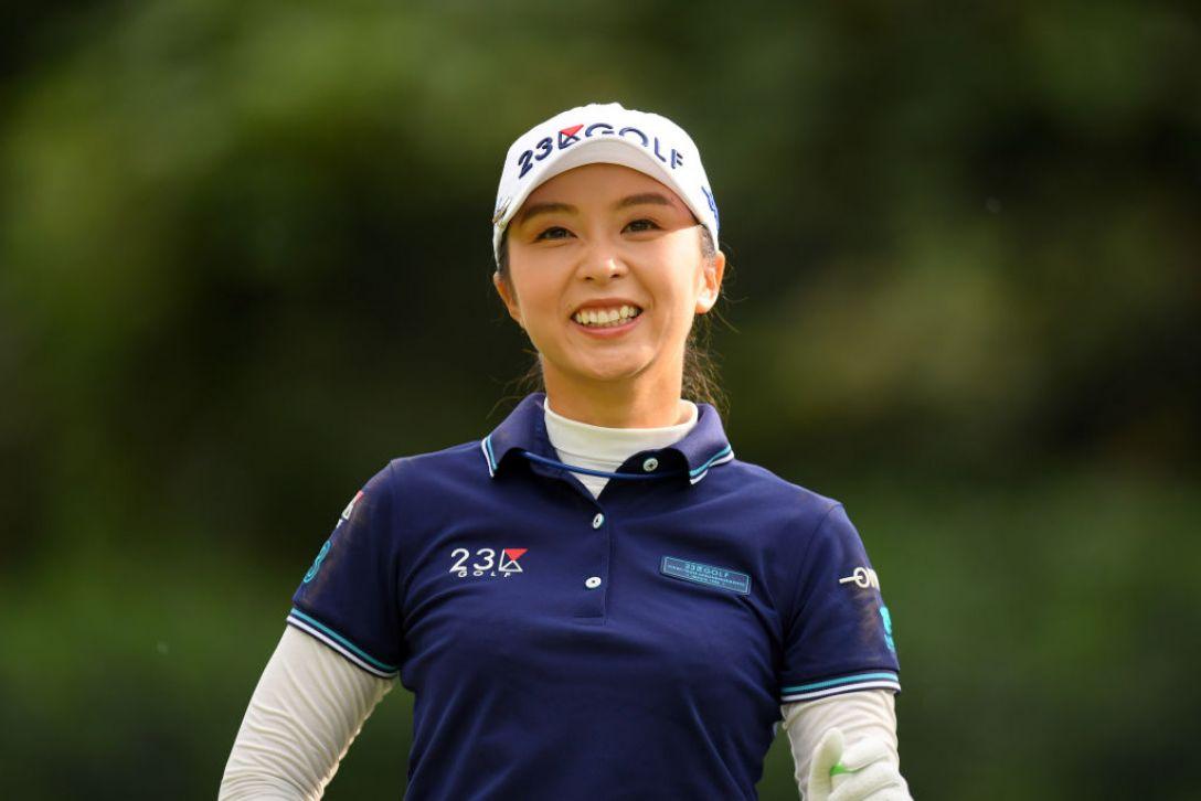 日本女子オープンゴルフ選手権 第1日 菊地絵理香<Photo:Atsushi tomura/Getty Images>
