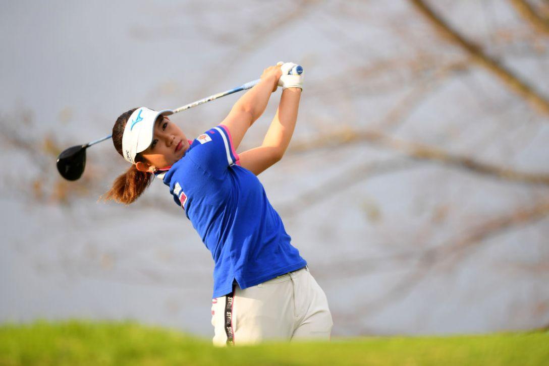日本女子オープンゴルフ選手権 第1日 吉本 ひかる<Photo:Atsushi tomura/Getty Images>