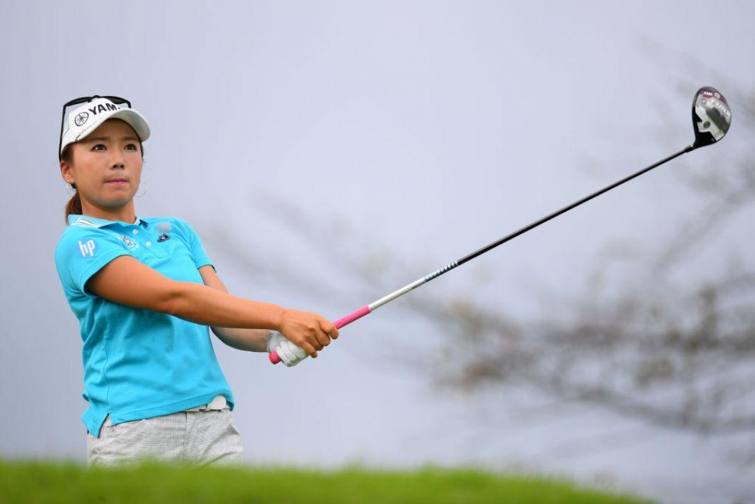 日本女子オープンゴルフ選手権 第1日 有村智恵<Photo:Atsushi tomura/Getty Images>