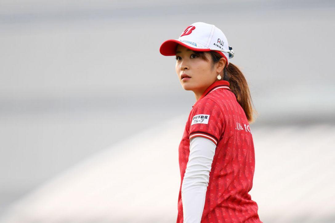 日本女子オープンゴルフ選手権 第1日 三ヶ島かな<Photo:Atsushi tomura/Getty Images>