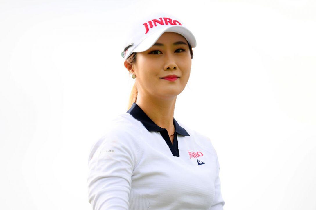 日本女子オープンゴルフ選手権 第1日 キムハヌル<Photo:Atsushi tomura/Getty Images>