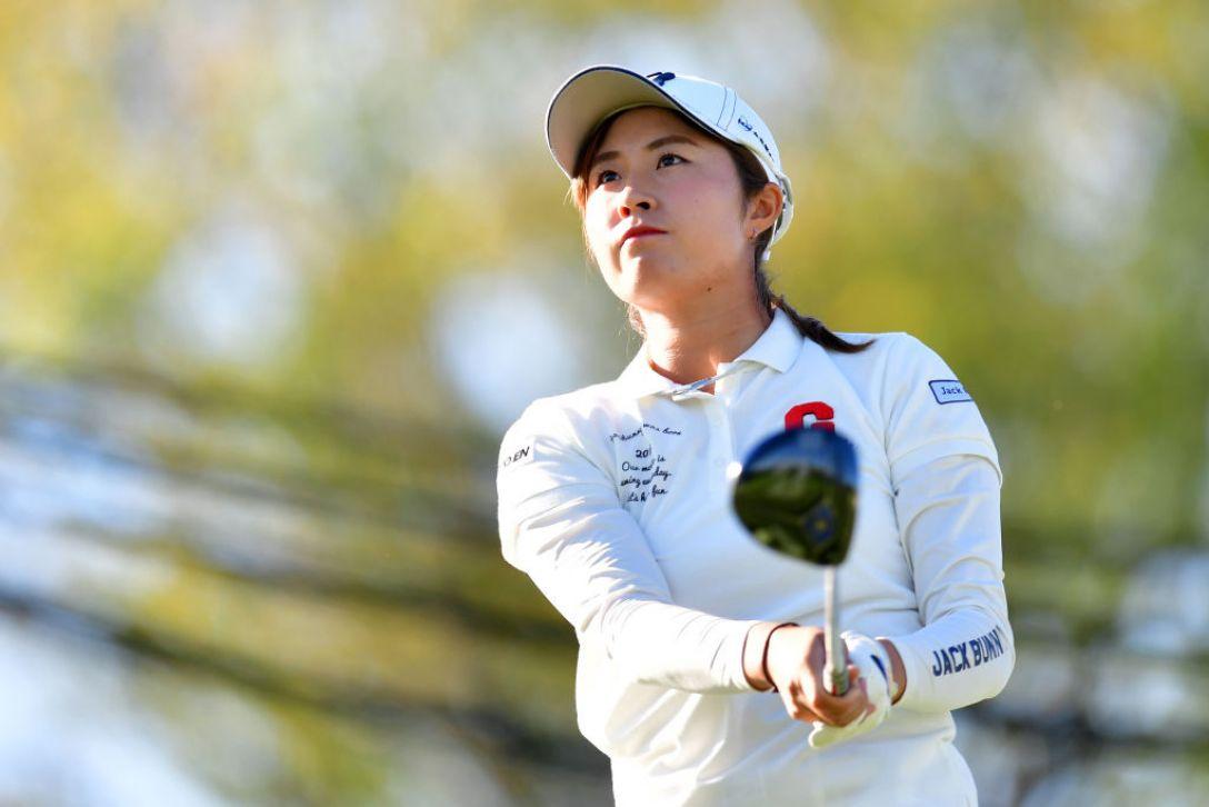 日本女子オープンゴルフ選手権 第2日 大里桃子<Photo:Atsushi tomura/Getty Images>