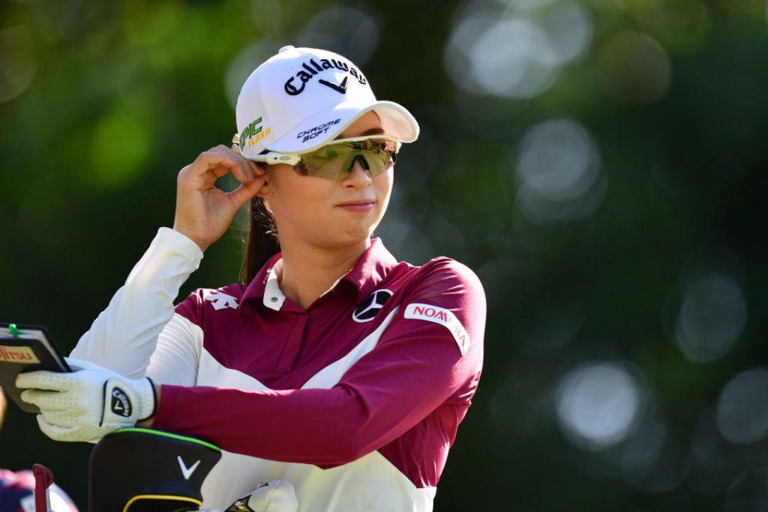 日本女子オープンゴルフ選手権 第2日 柏原明日架<Photo:Atsushi tomura/Getty Images>