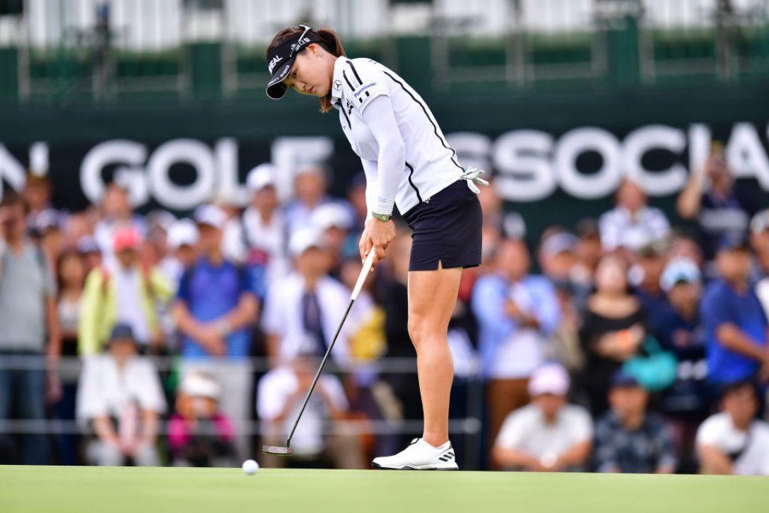 日本女子オープンゴルフ選手権 第2日 ユ ソヨン <Photo:Atsushi Tomura/Getty Images>