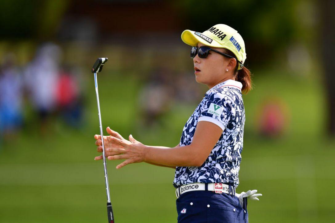 日本女子オープンゴルフ選手権 第2日 有村智恵 <Photo:Atsushi Tomura/Getty Images>