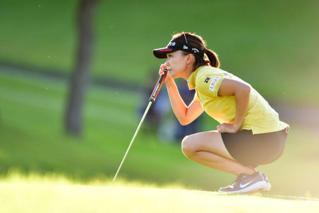 日本女子オープンゴルフ選手権 第2日 テレサ・ルー<Photo:Atsushi tomura/Getty Images>