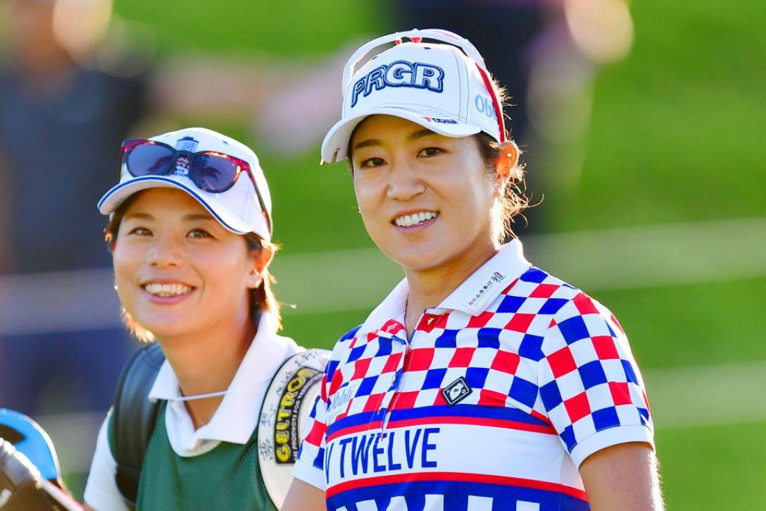 日本女子オープンゴルフ選手権 第2日 藤本麻子<Photo:Atsushi tomura/Getty Images>