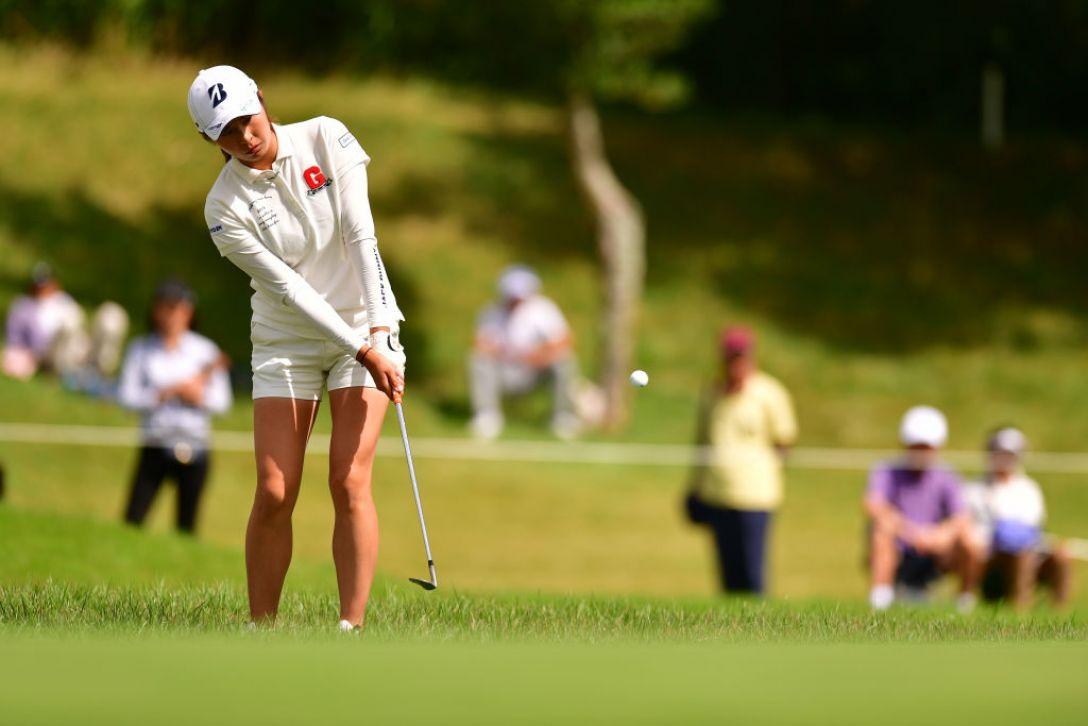 日本女子オープンゴルフ選手権 第2日 大里桃子 <Photo:Atsushi Tomura/Getty Images>