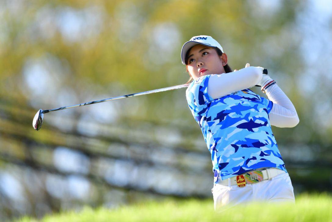 日本女子オープンゴルフ選手権 第2日 淺井咲希<Photo:Atsushi tomura/Getty Images>