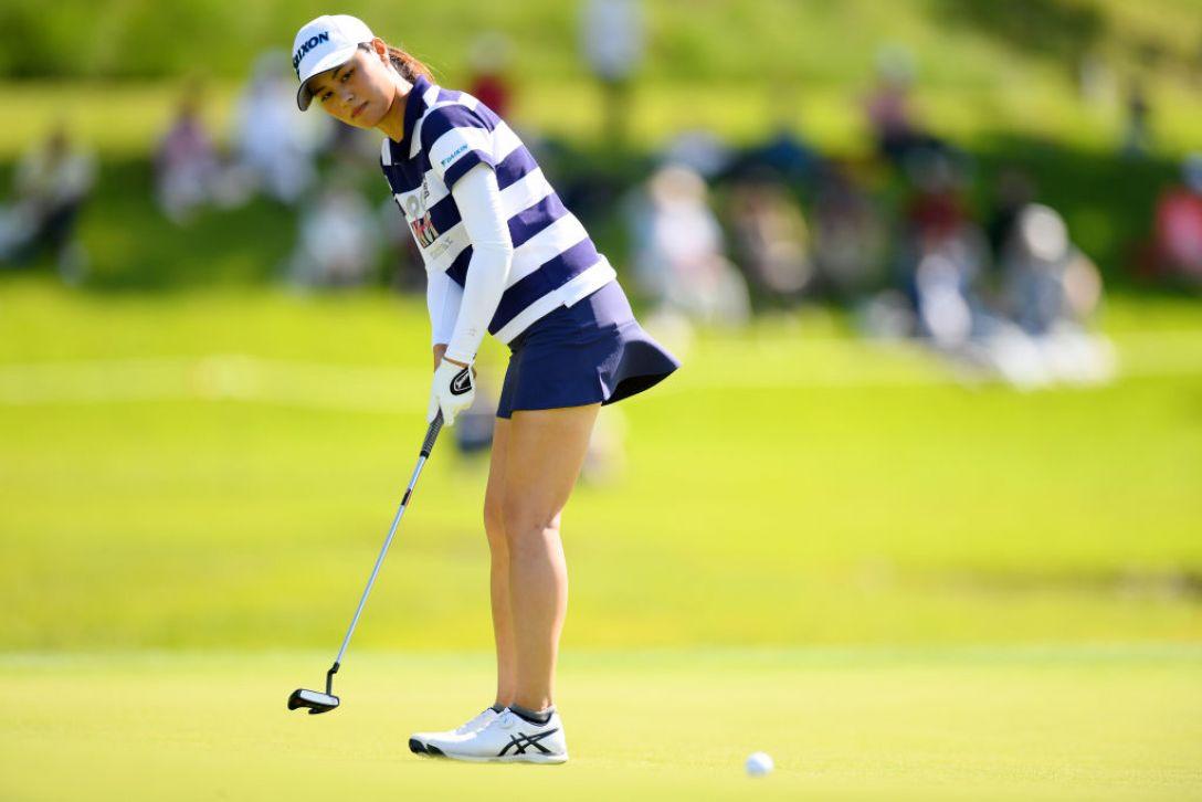 日本女子オープンゴルフ選手権 第3日 新垣比菜<Photo:Atsushi tomura/Getty Images>