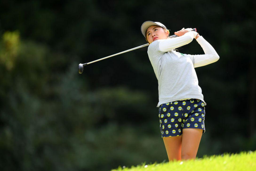 日本女子オープンゴルフ選手権 第3日 大里桃子<Photo:Atsushi tomura/Getty Images>