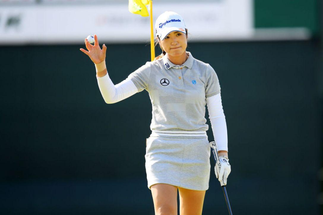 日本女子オープンゴルフ選手権 第3日 大西葵 <Photo:Atsushi Tomura/Getty Images>