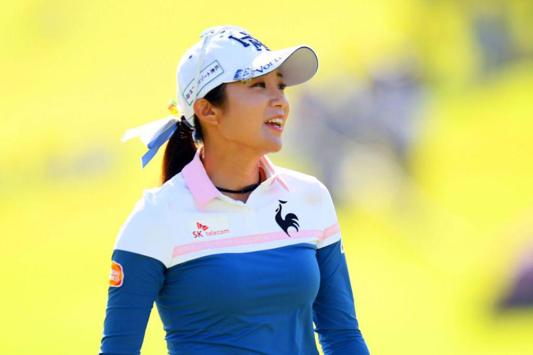 日本女子オープンゴルフ選手権 第3日 イボミ<Photo:Atsushi tomura/Getty Images>